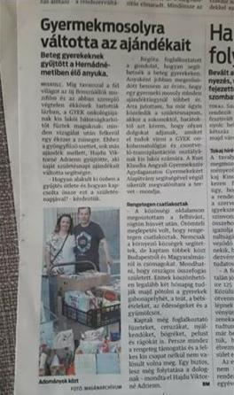 Hajdu Viktorné Mutass jó példát kampány a pozitív értékekért