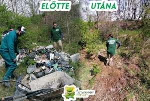 A Tiszta Erdőkért Egyesület Mutass jó példát kampány